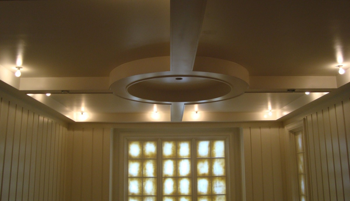 Cicular Coffered Ceiling