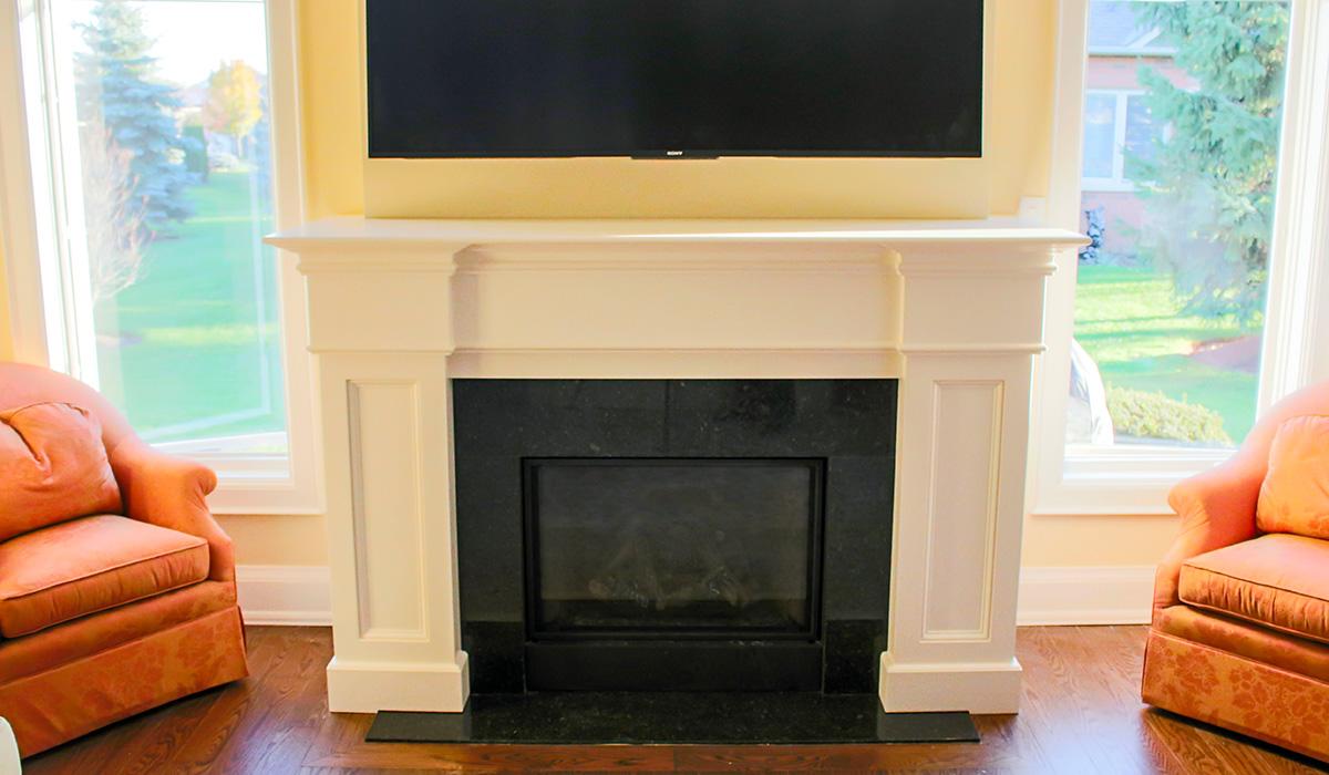 JMT custom carpentry media console