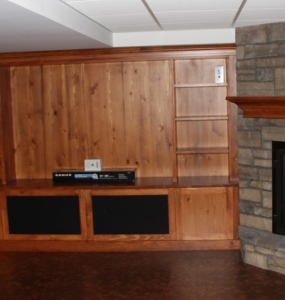 Media Console Project #2